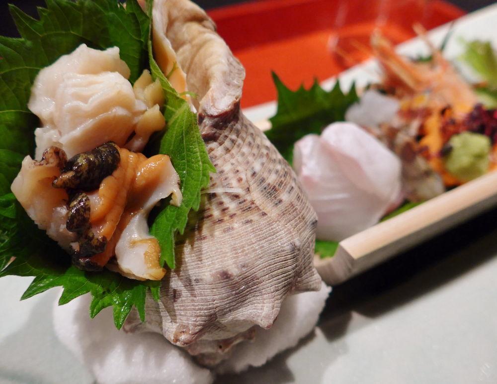 小豆島 瀬戸内海の魚介 刺身